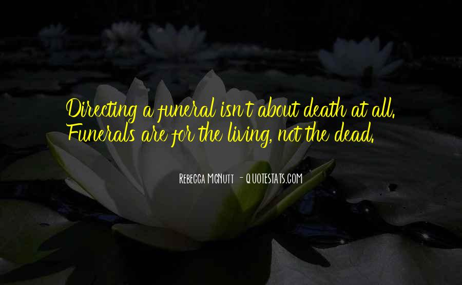 Quotes About Celebration Of Death #1551120