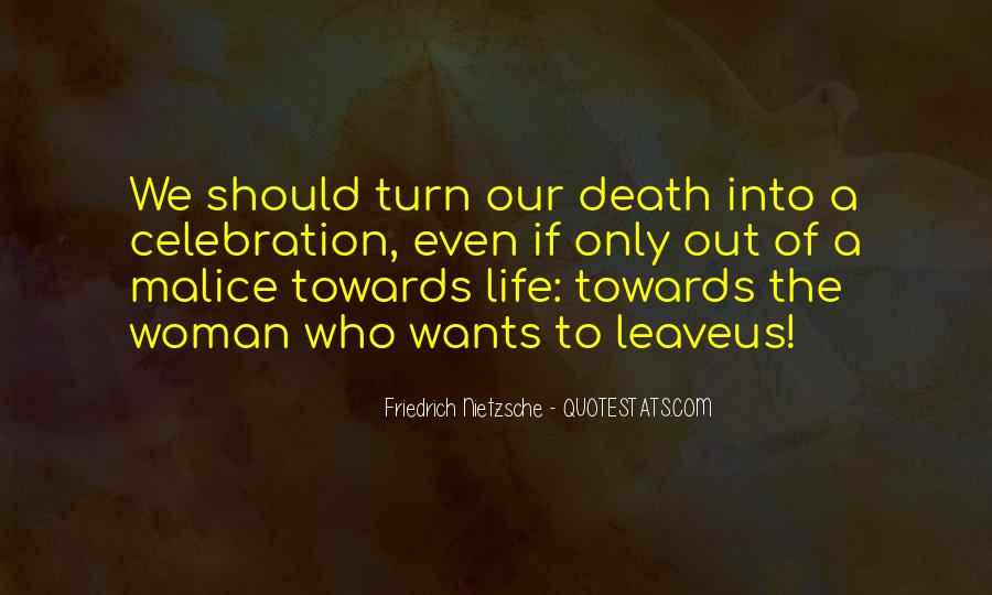Quotes About Celebration Of Death #264680