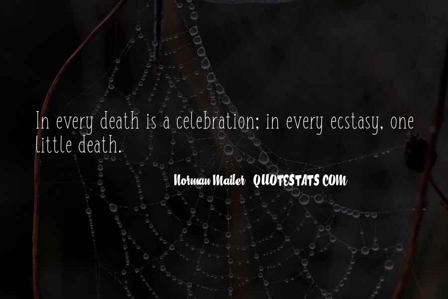 Quotes About Celebration Of Death #300861