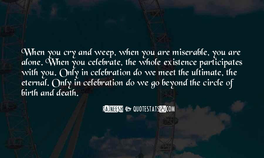 Quotes About Celebration Of Death #494959