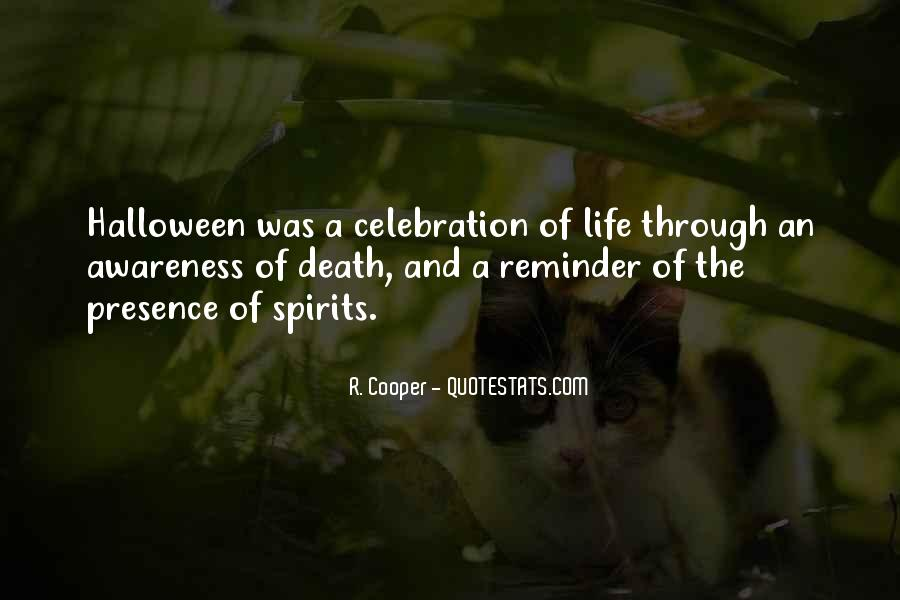 Quotes About Celebration Of Death #733321