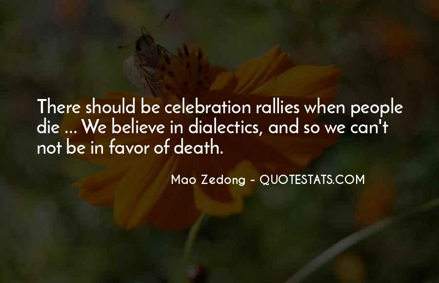Quotes About Celebration Of Death #854581