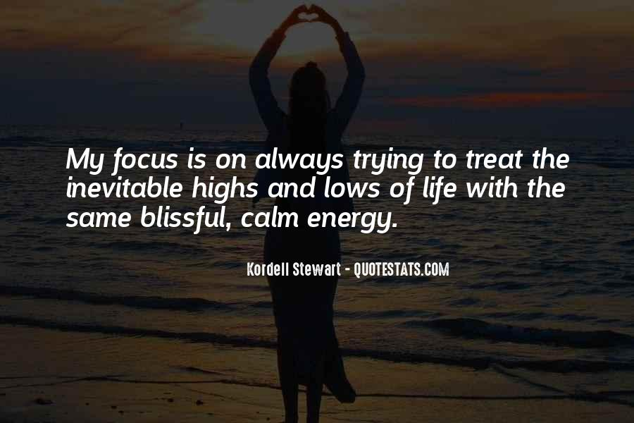 Quotes About Energy Of Life #102813