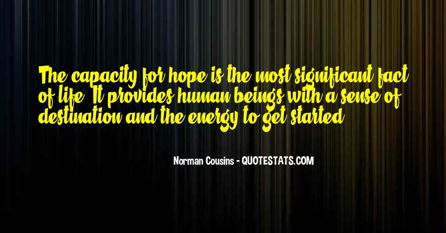 Quotes About Energy Of Life #148322