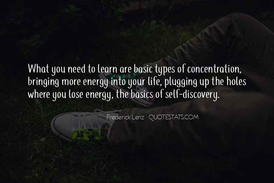 Quotes About Energy Of Life #321767