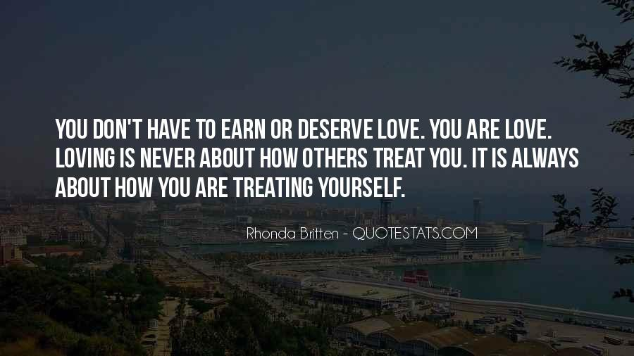 Quotes About What You Deserve In A Relationship #1462264