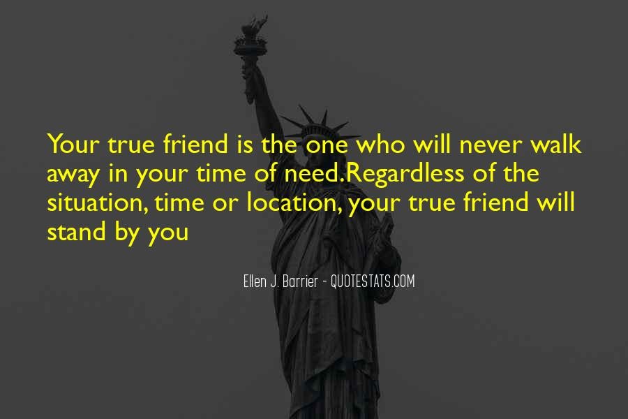 Quotes About Far Away Friendship #208674