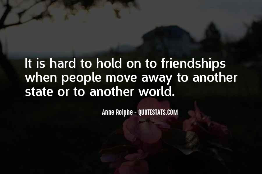 Quotes About Far Away Friendship #80271