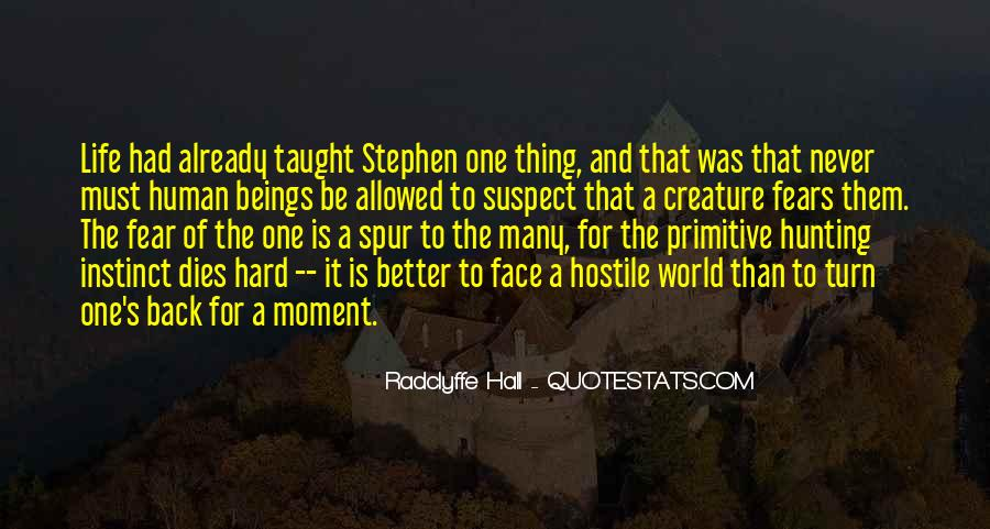 Quotes About Hunting And Life #1703000