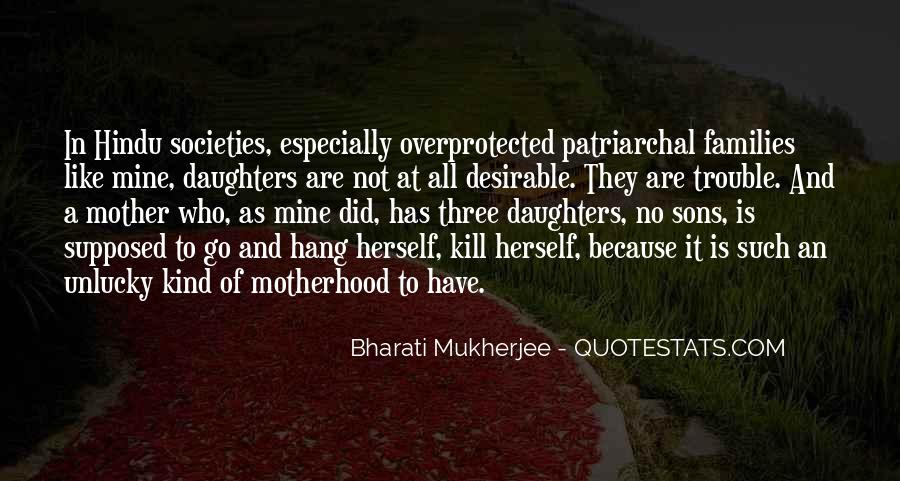 Quotes About Patriarchal Societies #124007