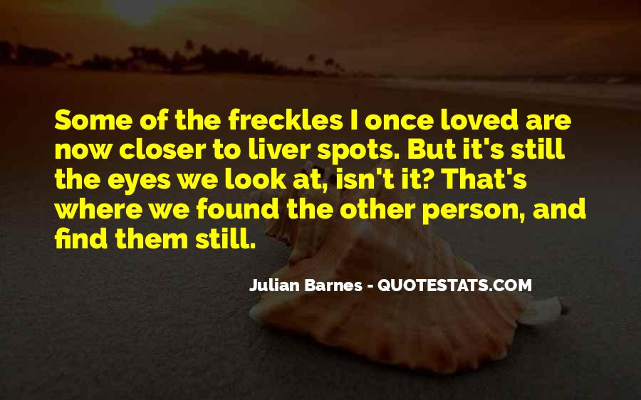 Quotes About Having Freckles #132417