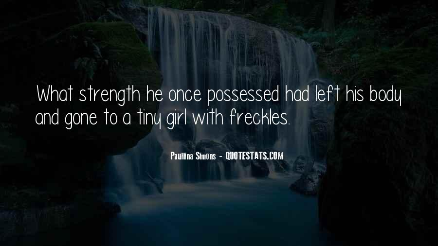 Quotes About Having Freckles #530246