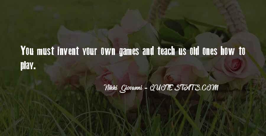 Quotes About Games #19066