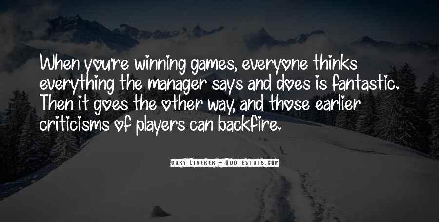 Quotes About Games #24726