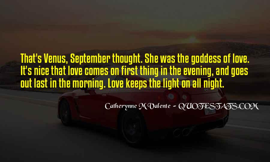 Quotes About September First #1087566
