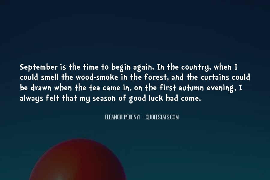 Quotes About September First #1218405