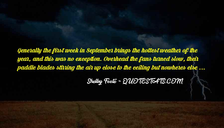 Quotes About September First #1381802