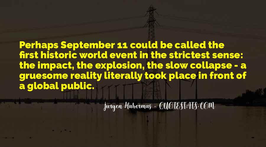 Quotes About September First #1487676