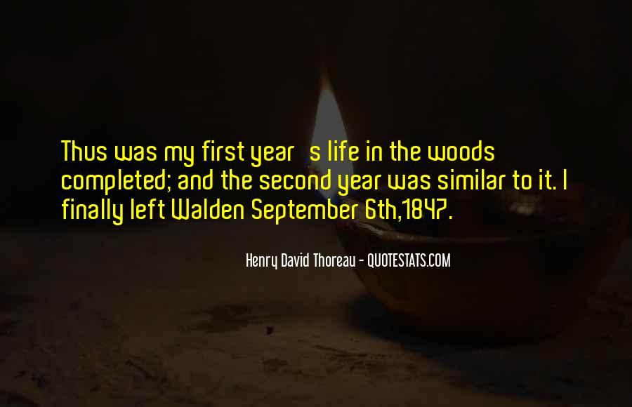 Quotes About September First #1630620