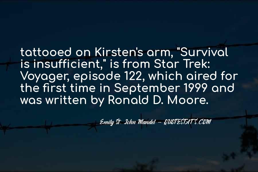 Quotes About September First #1668955
