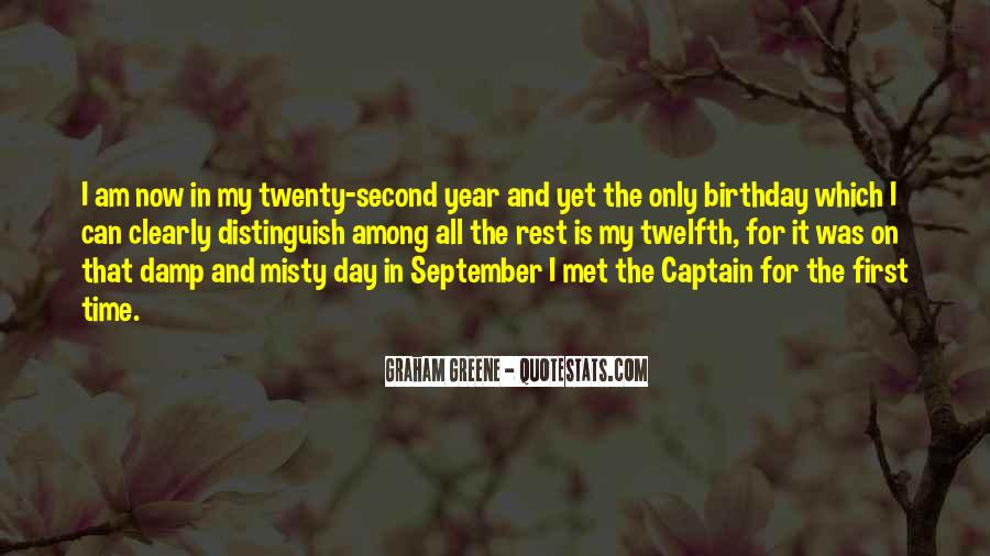 Quotes About September First #1828744