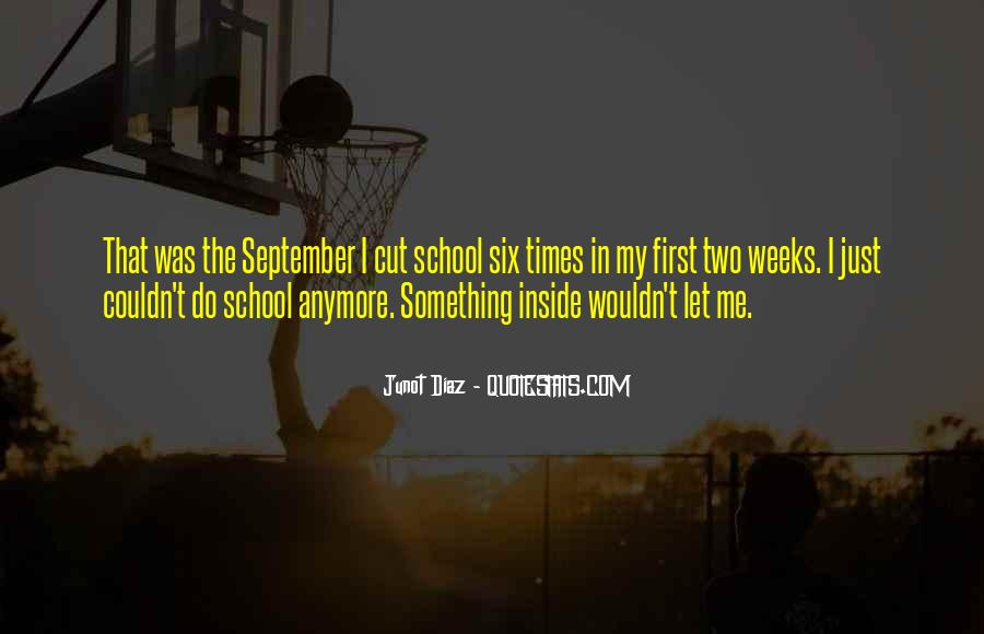 Quotes About September First #199844