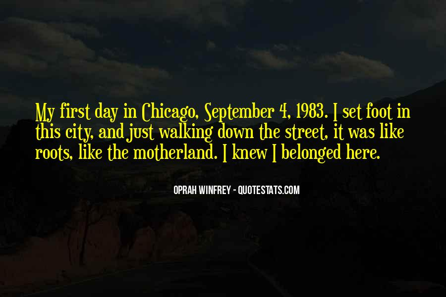 Quotes About September First #29520