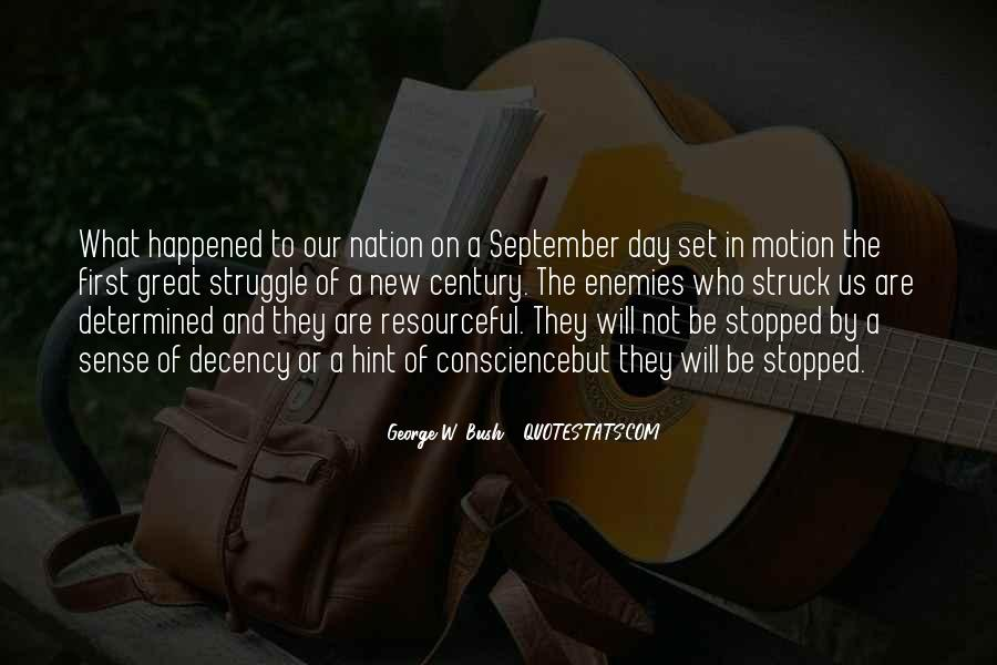 Quotes About September First #346691