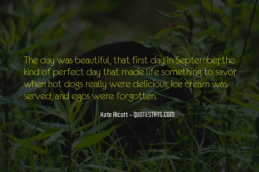 Quotes About September First #534618