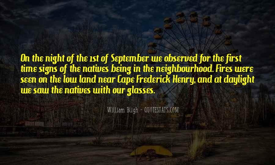 Quotes About September First #661800