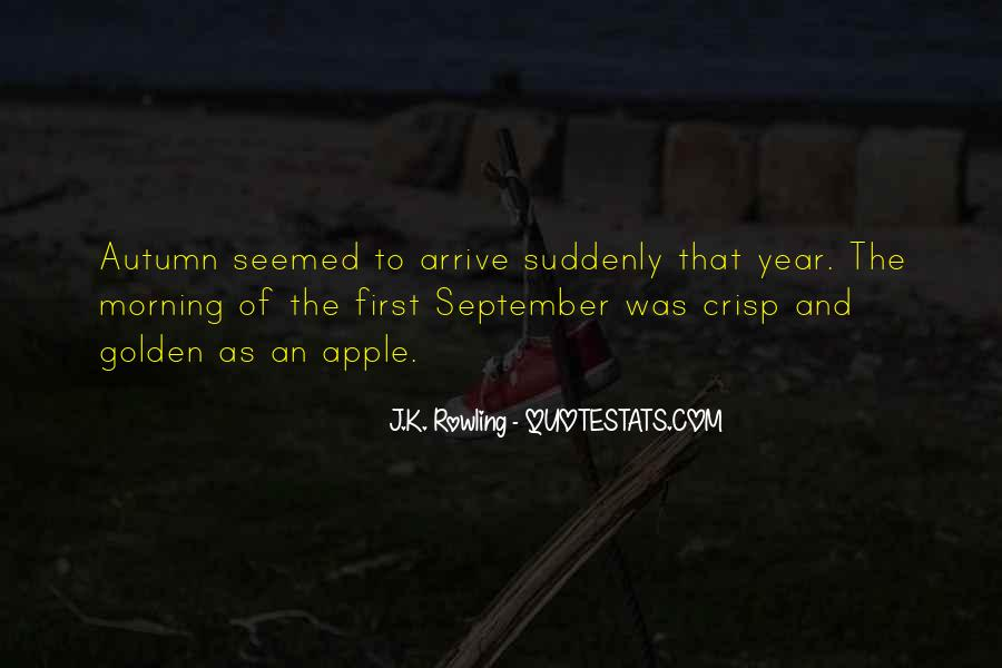 Quotes About September First #815586
