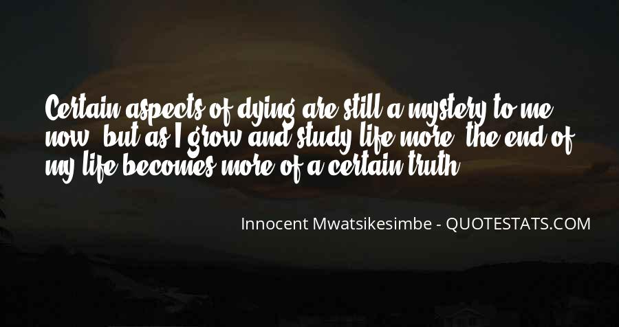 Quotes About The Mystery Of Death #1332930
