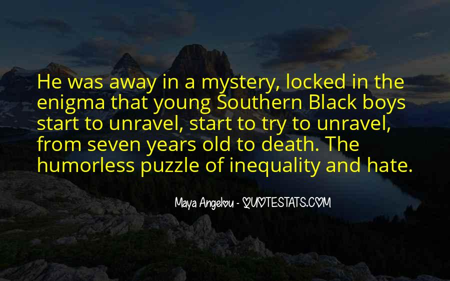 Quotes About The Mystery Of Death #1479961