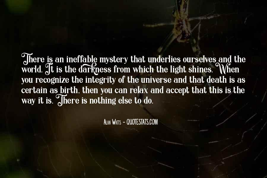 Quotes About The Mystery Of Death #229430