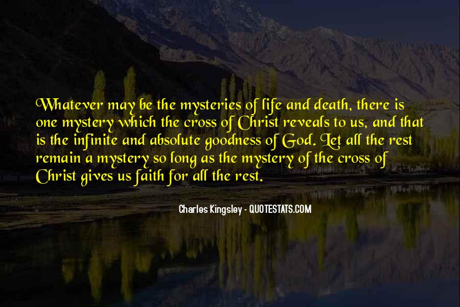 Quotes About The Mystery Of Death #23325