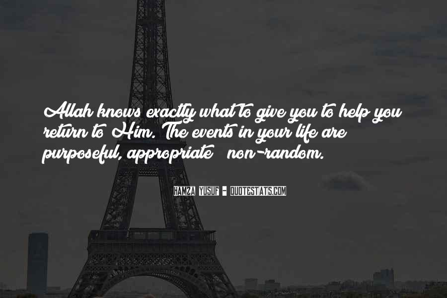 Quotes About Allah's Help #1045643