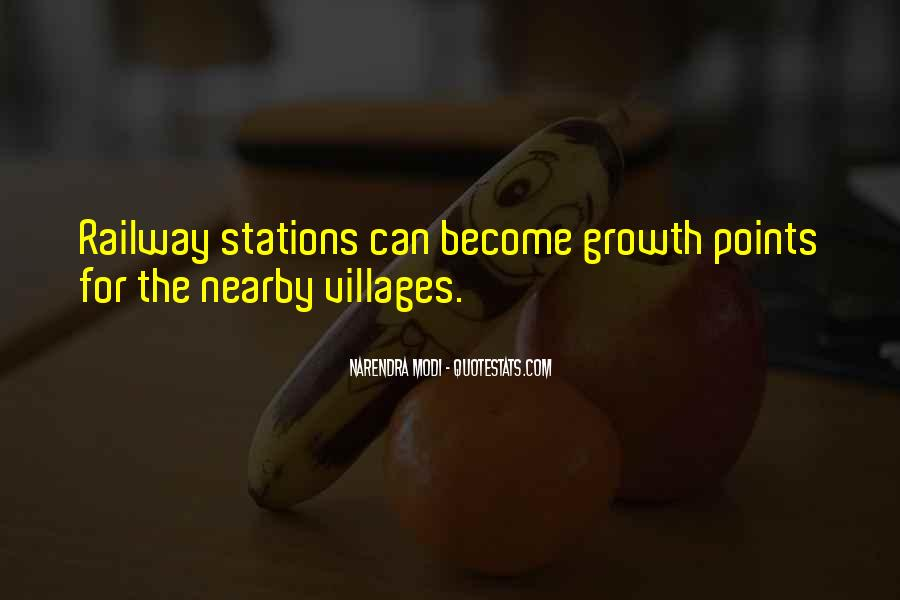 Quotes About Railway Stations #1230711