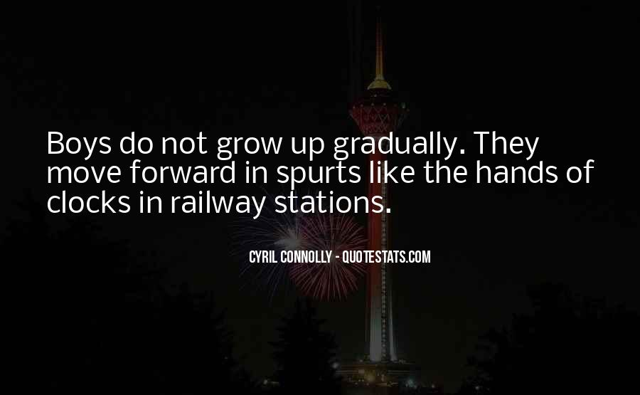 Quotes About Railway Stations #1688102