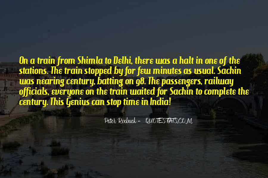 Quotes About Railway Stations #20187