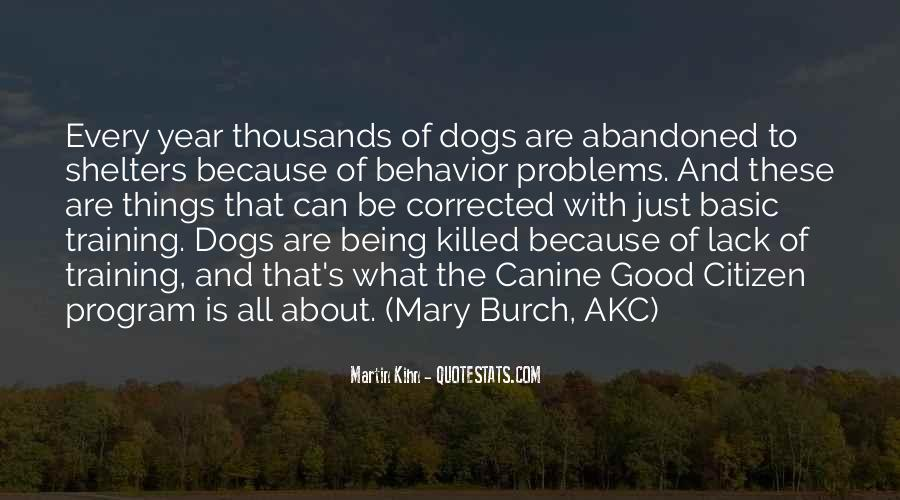 Quotes About Canine #51216