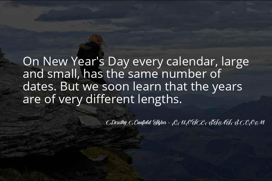 Quotes About New Years Day #263279