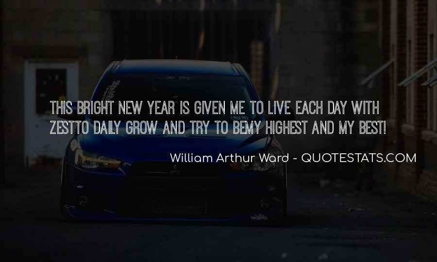 Quotes About New Years Day #507525