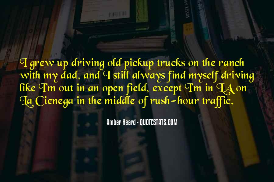 Quotes About Rush Hour Traffic #358832