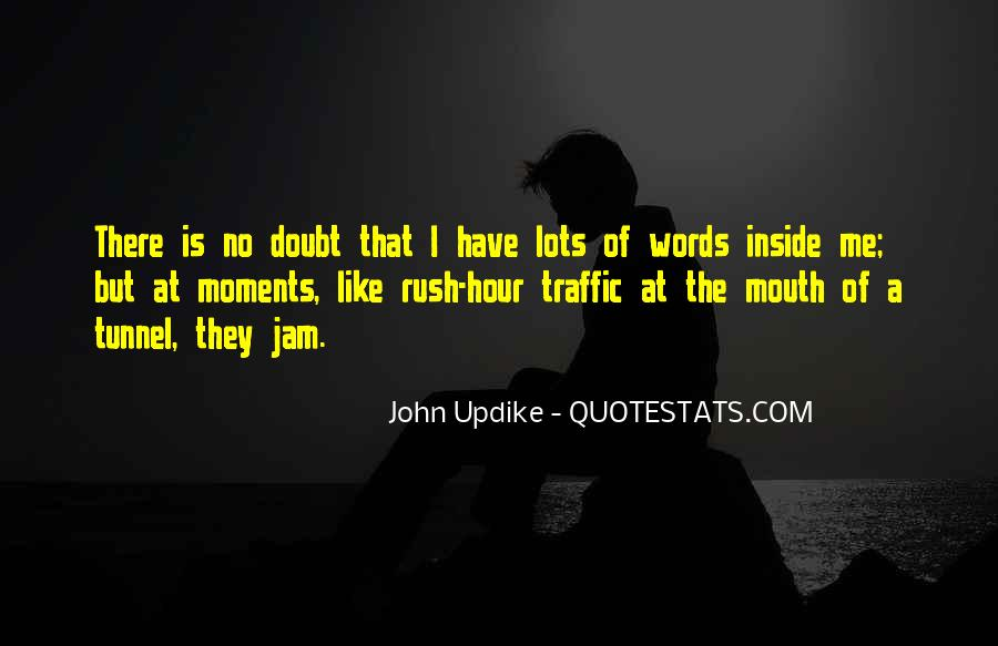 Quotes About Rush Hour Traffic #44002