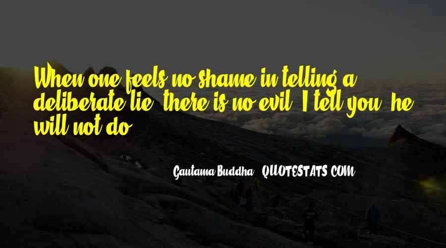 Quotes About Not Telling A Lie #290102