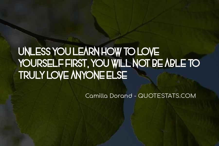 Quotes About Inspiration To Your Love #1413530