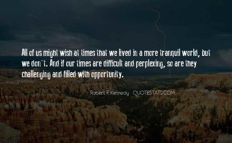 Quotes About Challenging Times #173637