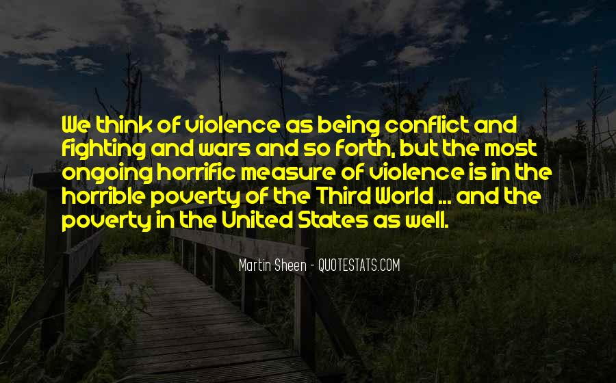 Quotes About Fighting Violence With Violence #1475978