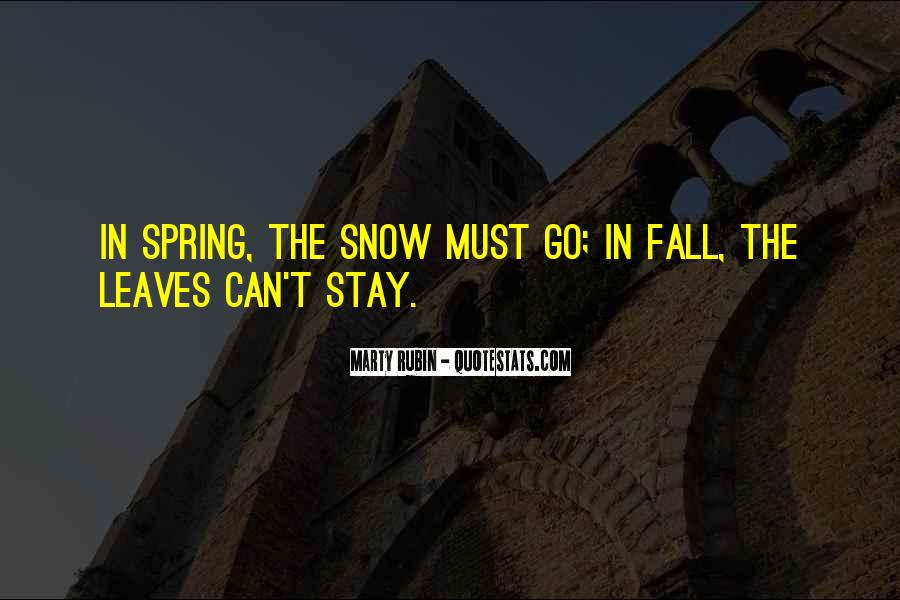 Quotes About Fall Leaves #1002286