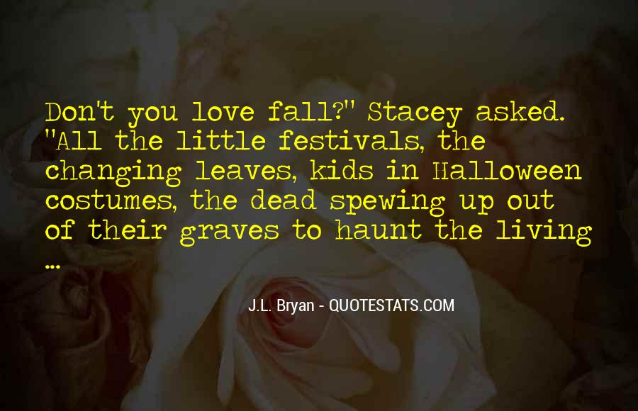 Quotes About Fall Leaves #136952